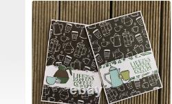 Stampin Up COFFEE CAFE Stamp set & CUPS DIES Bundle Latte Sentiments cocoa