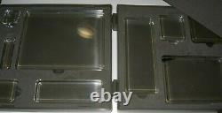 Stampin Up! COMPLETE Clear Acrylic 9 Block Set with Carrying Case