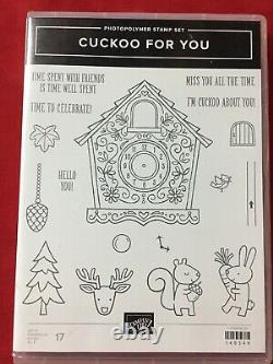 Stampin' Up! CUCKOO FOR YOU & YUMMY CHRISTMAS Stamp Sets & Dies NEW