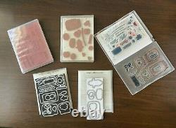 Stampin Up Canning- Sweet Thoughts, Jar, Perfectly Preserved, 2 Framelit Sets