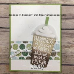 Stampin' Up! Coffee Cafe & Merry Cafe Sets & Coffee Cup Framelits + BONUS