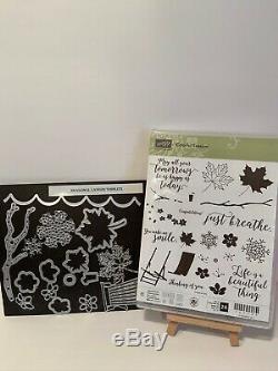 Stampin'Up! Colorful Seasons Stamp Set/ Seasonal Layers Thinlit Dies