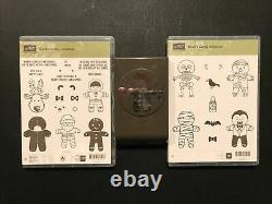 Stampin Up! Cookie-Cutter Christmas PLUS Halloween Stamp Sets PLUS Punch