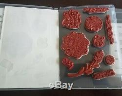 Stampin' Up! Dear Doily Cling Stamp Set plus Doily Builder Thinlits Dies