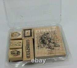 Stampin' Up! GODSPEED Military Soldier Stamp Set (R-1)