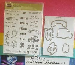 Stampin Up GUY GREETINGS & Dies by Dave Bundle Father's Day Masculine FULL SET