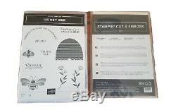 Stampin Up HONEY BEE Stamp Set & DETAILED BEE Dies NewithUnused-RARE