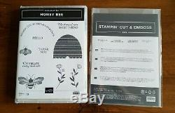 Stampin Up HONEY BEE Stamp Set & DETAILED BEE Dies NewithUnused SOLD OUT S. U