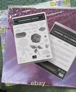 Stampin' Up! HYDRANGEA HAVEN stamp set & HYDRANGEA Dies Bundle PLUS papers