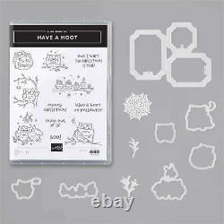 Stampin' Up! Have a Hoot Cling Stamp Set + Peek-a-Hoot Dies