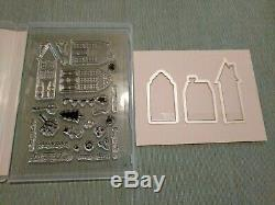Stampin' Up! Holiday Home Stamp Set & Homemade Holiday Framelits New