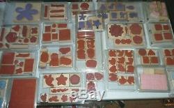 Stampin' Up! Huge Lot Of Assorted Stamp Sets, All New