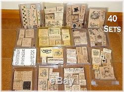 5 of 6 The Fine Print Stampin Up rubber stamp set