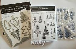Stampin Up! In the Pines Bundle- Stamp Set & Pine Woods Dies. New! Never Used