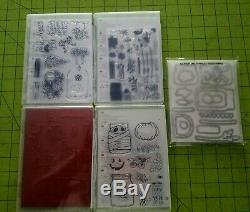 Stampin Up JAR of LOVE, CHEER, HAUNTS, SHARING SWEET THOUGHTS with DIE SET BNIP