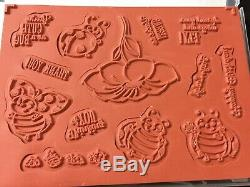 Stampin' Up! LITTLE LADYBUG Stamp Set & LADYBUG Dies NEW So cute