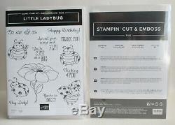 Stampin' Up LITTLE LADYBUG hostess stamp set & matching LADYBUGS DIES NEW