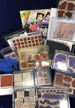 Stampin' Up! LOT! 13 Sets plus ink pads, pencils, & MORE