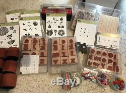Stampin' Up! Large Lot. Stamp Sets, Punches, Wheels and Dies