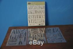 Stampin' Up! Letters For You Photopolymer Stamp Set & Large Letters Dies