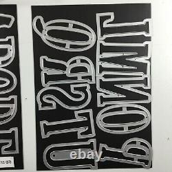 Stampin Up Letters For You Stamp Set And Large Letters Framelits Die Set