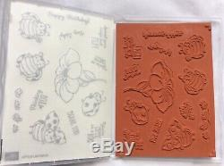 Stampin Up! Little Ladybug- New Cling stamp set & Ladybugs DiesNEW