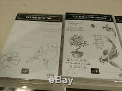 Stampin Up Lot #1 stamp sets all new