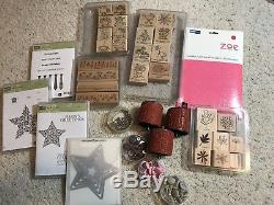 Stampin' Up! Lot. Stamp Sets, Punches, and Wheels. HOLIDAYS