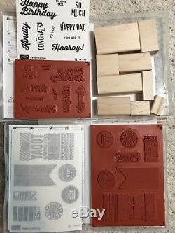 Stampin' Up! Lot. Stamp Sets, Punches, and Wheels. Many Occasions