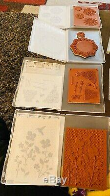 Stampin Up Lots Of 41 New & Used Sets
