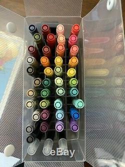 Stampin Up Marker Set, 41 Colors And 3 Blender Pens Included