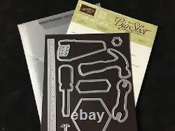 Stampin' Up! NAILED IT Stamp Set & BUILD IT Dies NEW
