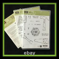 Stampin' Up! NAILED IT Stamp Set & BUILD IT Dies & URBAN DISTRICT NEW