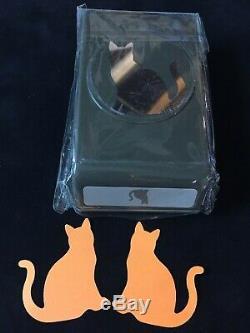 Stampin Up! NINE LIVES Stamp Set, SPOOKY CAT Stamp Set & CAT Punch NEW
