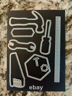 Stampin' Up! Nailed It Stamp Set to Mount on Blocks/Matching Die Set