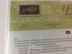 Stampin' Up! POCKET FULL OF SUNSHINE Stamp Set & POCKET Framelits Dies NEW