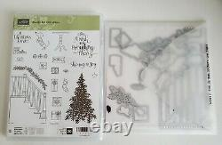 Stampin' Up READY FOR CHRISTMAS Stamp Set & CHRISTMAS STAIRCASE Dies Bundle