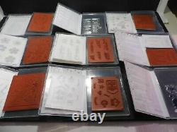Stampin' Up! RETIRED Stamp Sets Lot Of 20 Various Stamp Sets Mostly Unused