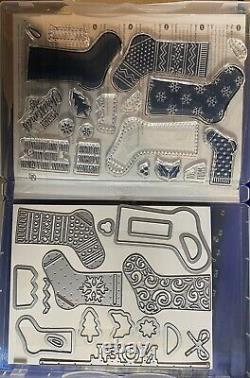 Stampin' Up! RETIRED lot of 16 Stamp Sets 7 include dies