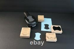 Stampin' Up! ROUNDED TAB PUNCH Whale Tail Style PLUS Totally Tabs Stamp Set