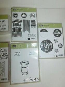 Stampin Up Retired Lot of 11 Sets