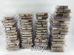 Stampin Up! Rubber Stamps Crafting over 400 stamps 60 sets 17 sets New! Lot