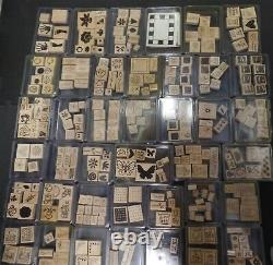 Stampin' Up! Rubber Stamps HUGE LOT 70 COMPLETE SETS 36 LBS MIXED THEMS