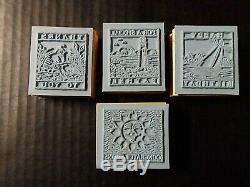 Stampin Up Rubber Stamps Happy Birthday Thanks Congrats Special Father Set