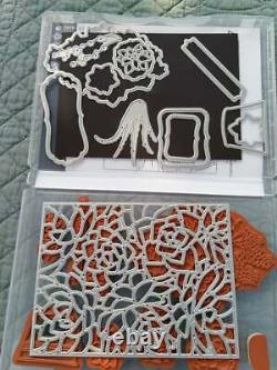 Stampin' Up! SIMPLY SUCCULENTS stamp Set & POTTED SUCCULENTS Dies Bundle
