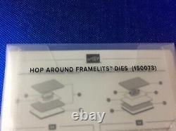 Stampin' Up! SO HOPPY TOGETHER Stamp Set & HOP AROUND Framelits Dies NEW