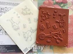Stampin' Up SO HOPPY TOGETHER stamp set & HOP AROUND Framelits Bundle FREE SHIP