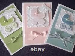 Stampin' Up! SOMETHING FOR BABY & MADE WITH LOVE Stamp Sets & BABY'S FIRST Dies