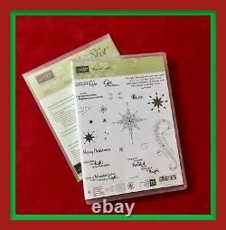 Stampin' Up! STAR OF LIGHT Stamps Set & STARLIGHT Thinlits Dies NEW