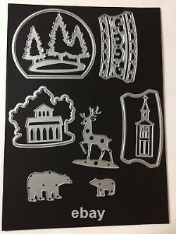 Stampin' Up! STILL SCENES & ZOO Stamp Sets, SNOW GLOBES DIES & GLOBES NEW